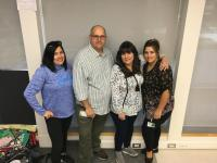 Team Goulet (Ms.G, Dave, Tracey and Michelle)