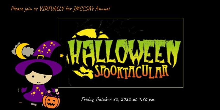 halloween assembly flyer